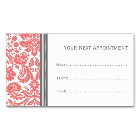 appointment cards design templates 2211 best appointment business card templates images on