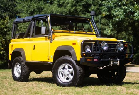 car maintenance manuals 1995 land rover defender 90 parental controls 56k mile 1995 land rover defender 90 nas 5 speed for sale on bat auctions sold for 58 000 on