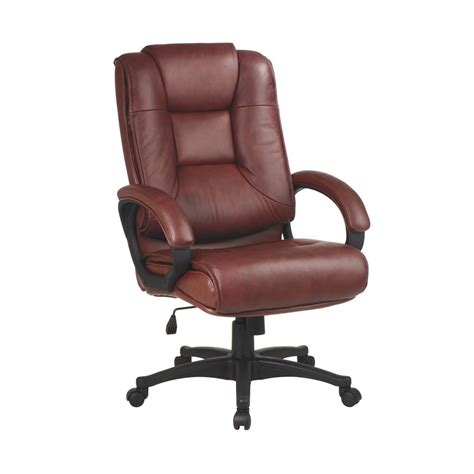 Saddle Office Chair by Shop Office One Worksmart Saddle Leather Executive