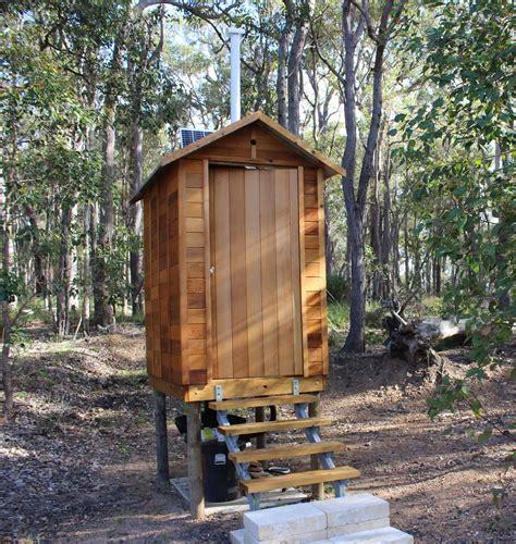 cedar outhouse water wally