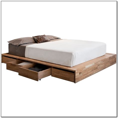 platform full size bed full size platform bed with drawers beds home design