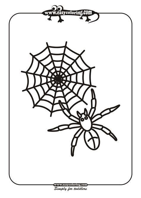 coloring pages for halloween spiders halloween spiders coloring pages