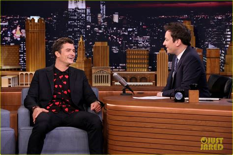 orlando bloom shows orlando bloom faces off against jimmy fallon on the