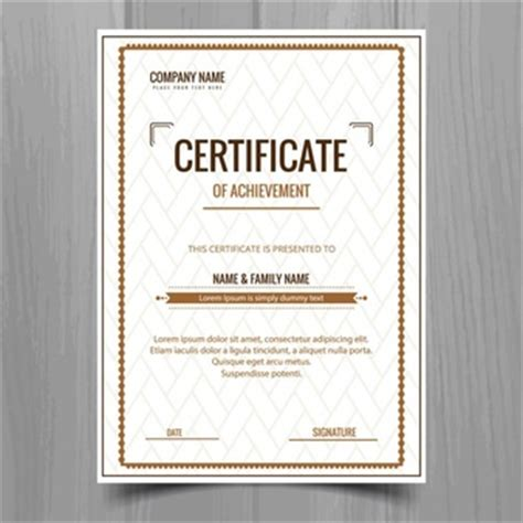 plain certificate template certificate template vectors photos and psd files free