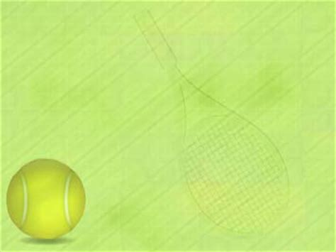 Tennis 01   PowerPoint Templates