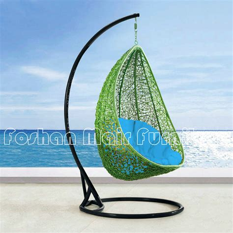 hanging egg swing chair china popular and nice outdoor hanging egg chair garden