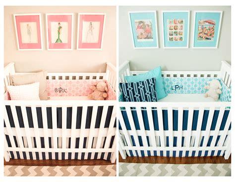 twin baby bedroom twin nursery for berkley and haxton project nursery