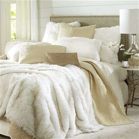 fur bed comforter all the untamed luxury of arctic fox fur is yours with