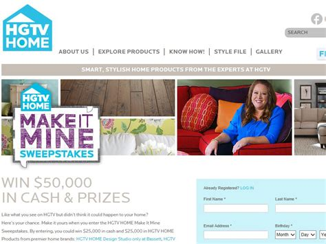 Hgtv 25000 Giveaway - hgtv home make it mine sweepstakes sweepstakes fanatics