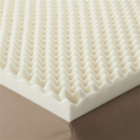 enhance highloft 3 quot memory foam topper white target
