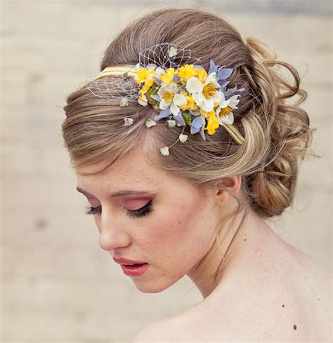 Wedding Hair With Flowers by Flower Hair Accessories Bitsy