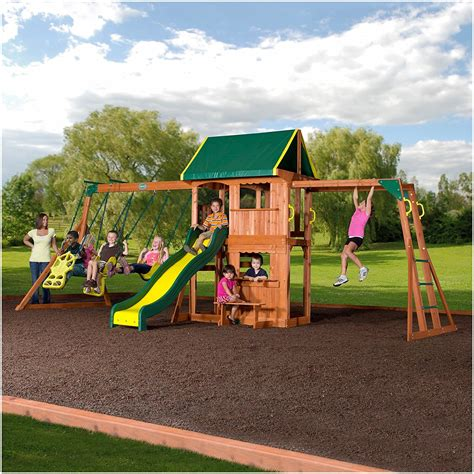 big backyard swing sets backyards cool big backyard swing set 110 sets claremont
