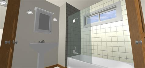 Bathroom Shower With Window Window In Shower Tub Bath