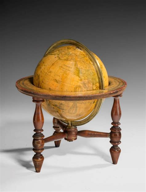 Antique Globe L by Antique Table Globe By Gilman Joslin 1816 At 1stdibs