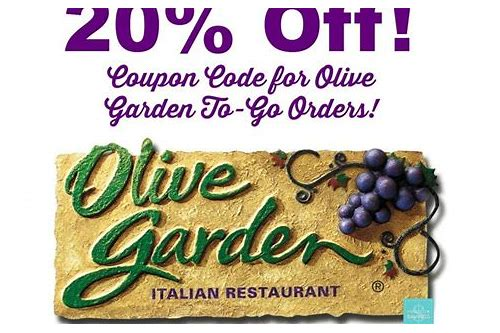 togo coupons for olive garden
