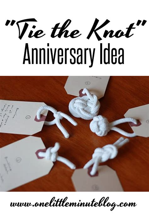 Ask Styledash Gift For Our 3rd Anniversary by Quot Tie The Knot Quot Anniversary Date Idea
