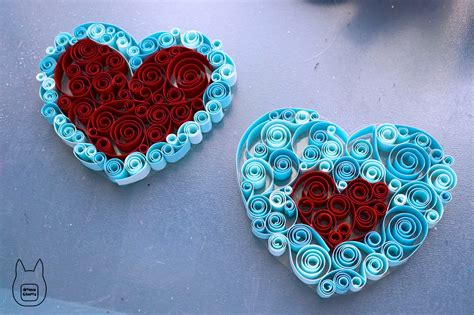 Quilling Paper Crafts - paper quilled pieces tutorial by studioofmm