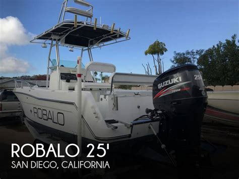 fishing boats for sale in san diego california sold robalo 2420 center console boat in san diego ca
