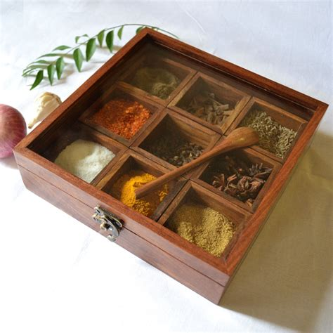 Antique Wall Clocks Online by Buy Wooden Masala Box Indian Spice Box Free Domestic