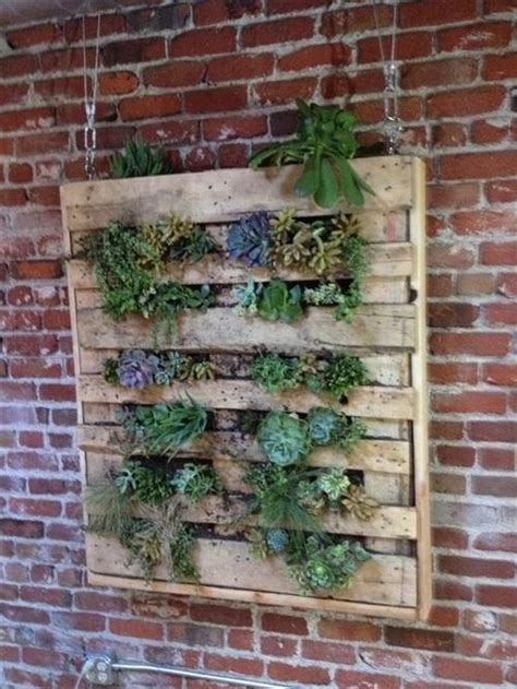 Pallet Wall Planter by Diy Pallet Planter Wall Pallets Designs