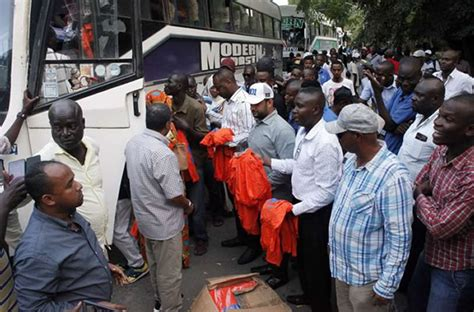Blouse Taveta Polos buses carrying nasa supporters impounded in voi zipo co ke