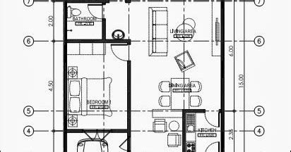 desain rumah ukuran 8x15 1 lantai denah rumah satu lantai ukuran 8x15 m desain rumah minimalis