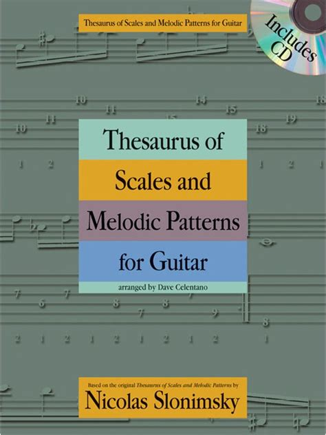 no pattern thesaurus nicolas slonimsky thesaurus of scales and melodic