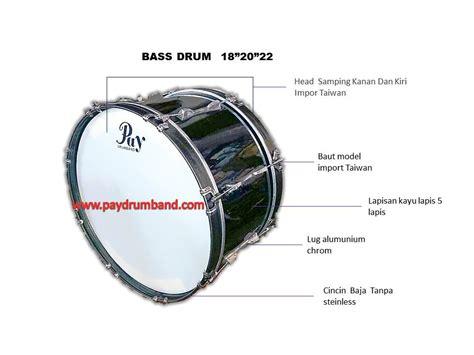 Bass Drum 22 Inch Kategori Sma Import harga drum band smp sma pay drumband