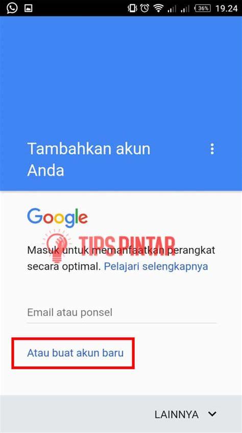 membuat gmail cepat  mudah  hp android