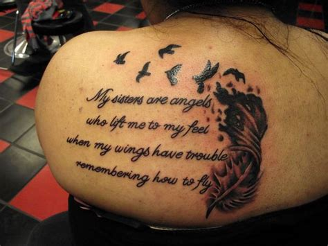 tattoo quotes for brother and sister sister tattoo quotes quotesgram