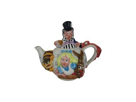 Alice in Wonderland Teapot Paul Cardew Design   Stoke Art