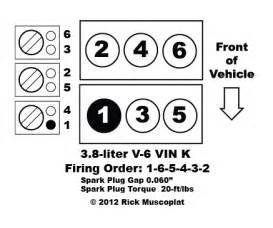 3 8 v 6 vin k firing order ricks free auto repair advice ricks free auto repair advice