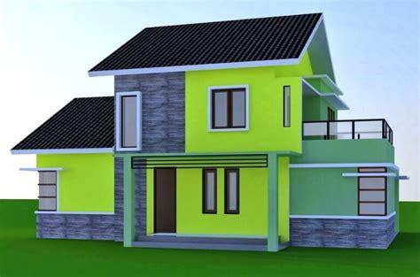 cat tembok cat rumah warna hijau tosca tua content
