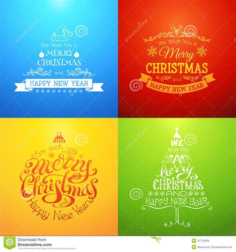 merry christmas  happy  year stock vector illustration  event pattern