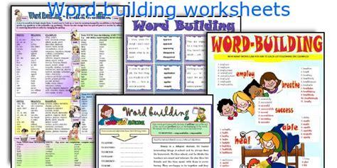 printable word building games english teaching worksheets word building