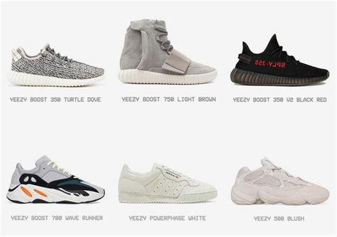 every adidas yeezy shoe archive sneakernews