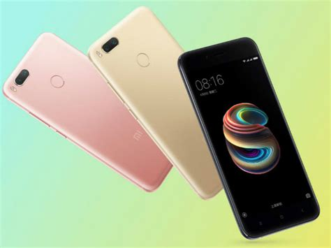 Xiaomi Mi A1 is xiaomi mi a1 the next android one smartphone gizbot news
