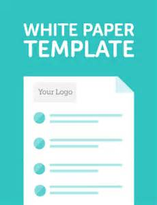 White Paper Template Word by 8 White Paper Design Templates Word Excel Pdf Formats