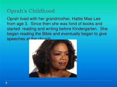 oprah biography facts oprah winfrey slideshow