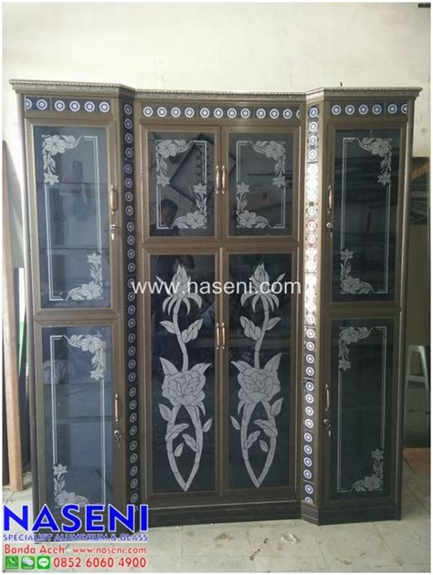 Rak Lemari Piring Alumunium Keramik 3 Pintu Rpak 146 lemari piring