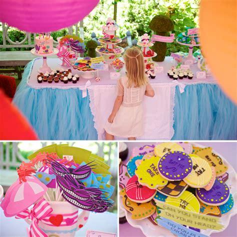 themed party alice in wonderland alice in wonderland birthday party popsugar moms