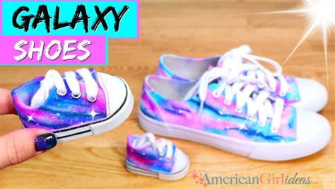 diy american doll shoes diy american doll galaxy shoes american ideas