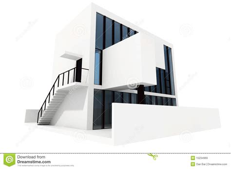 new 3d house isolated on white background 3d modern house isolated on white background royalty free
