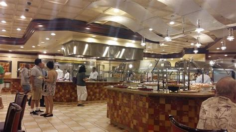 vista general del bufett picture of feast buffet at
