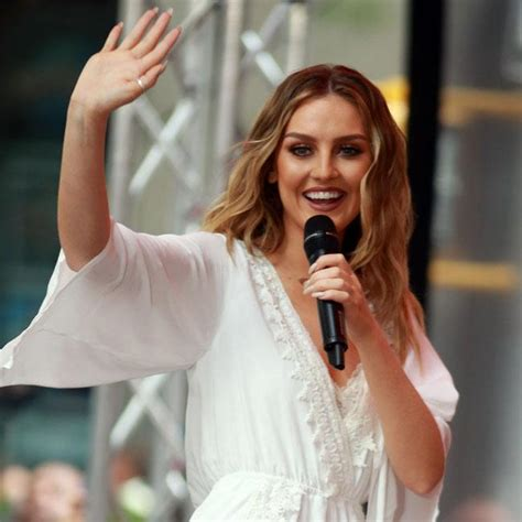 Afternoon Gossipy Goodness by Perrie Edwards Feels The Pressure Of Being A Model