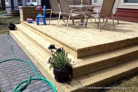 Backyard Fences And Decks by 05 Decks And Fences By Yard Busters Yard Busters Landscaping Lawn Care Snow Removal