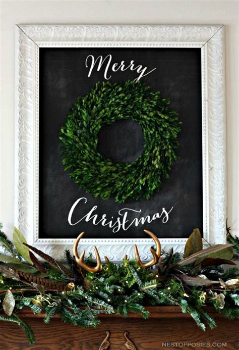 christmas chalkboard inspiration clean and scentsible