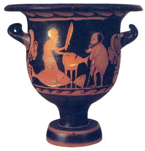 vasi egiziani antichi l inquilino se ne va e lascia in garage vasi della magna