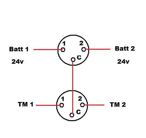 battery selector switch wiring battery free engine image