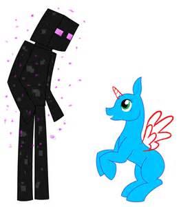 Mlp base enderman s pet pony by spiritualpresence on deviantart
